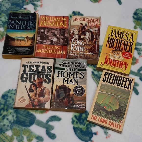 Lot of western novels